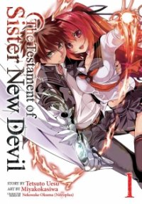 Cover The Testament of Sister New Devil, The Testament of Sister New Devil