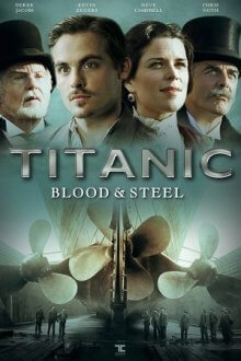 Poster, Titanic – Blood and Steel Serien Cover
