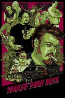 Cover Trailer Park Boys, TV-Serie, Poster