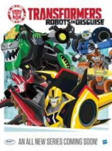 Cover der TV-Serie Transformers: Getarnte Roboter