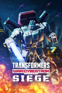 Poster, Transformers: War for Cybertron Serien Cover