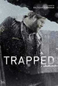 Poster, Trapped - Gefangen in Island Serien Cover