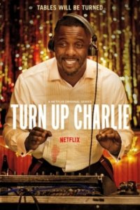 Poster, Turn Up Charlie Serien Cover