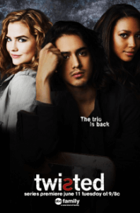 Poster, Twisted Serien Cover