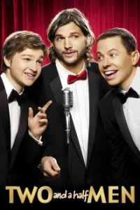 Poster, Two and a Half Men Serien Cover