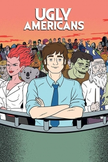 Ugly Americans, Cover, HD, Serien Stream, ganze Folge