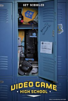 Video Game High School Cover, Poster, Video Game High School DVD
