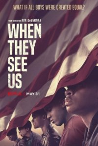 Poster, When They See Us Serien Cover