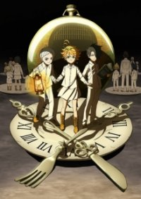 Cover Yakusoku no Neverland, Poster Yakusoku no Neverland