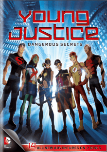 Cover Young Justice, Poster Young Justice
