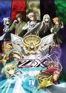 Cover der TV-Serie Z/X: Ignition